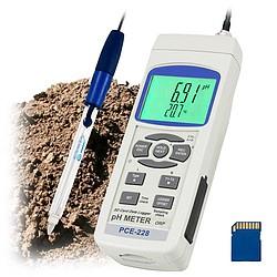Medidor de pH y conductividad